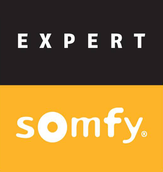 Bild zeigt das Logo von somfy