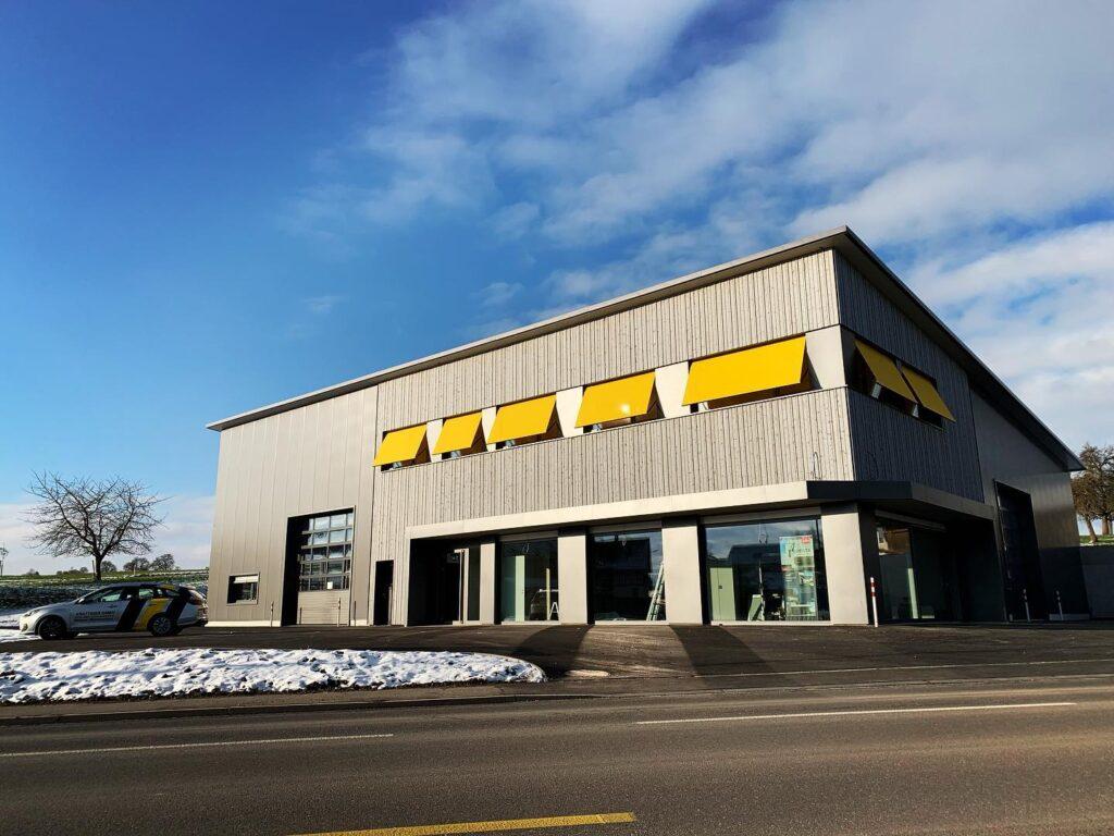 Bild zeigt den neuen Geschäftsstandort der Krattiger GmbH